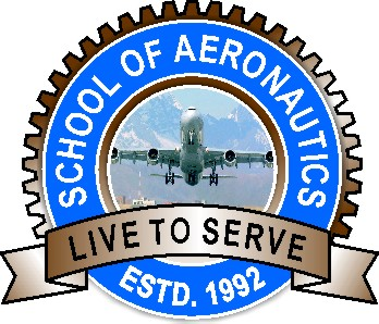 AIRCRAFT MAINTENANCE  ENGINEERING - SCHOOL OF AERONAUTICS LOGO